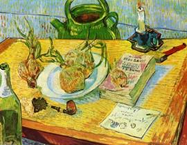 Vincent-Van-Gogh-Still-Life-Drawing-Board-Pipe-Onions-and-Sealing-Wa