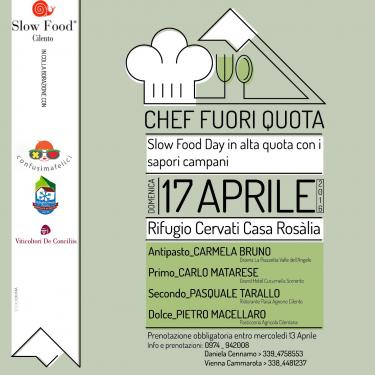 slow food day Chef Quotati