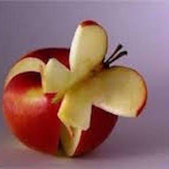 taglio artistico frutta2