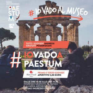 aperitivi Museo Paestum giovedì