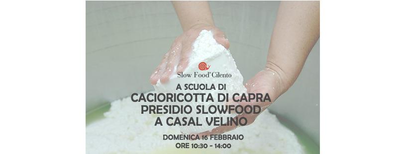cacioricotta capra presidio slow food